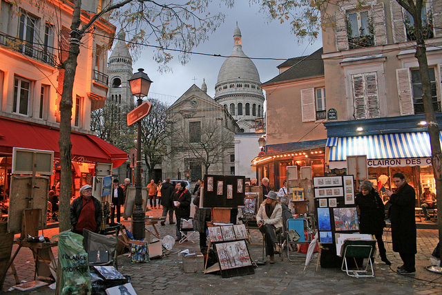 Place du Tertre - Paris (France)