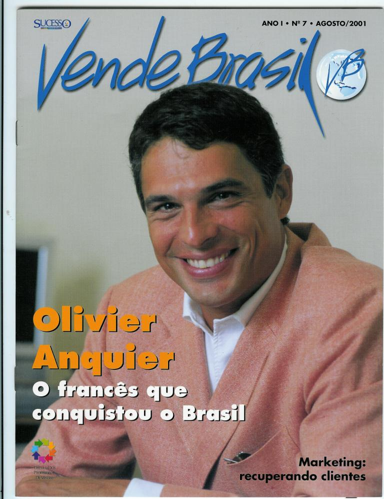 Capa Vende Brasil 2001